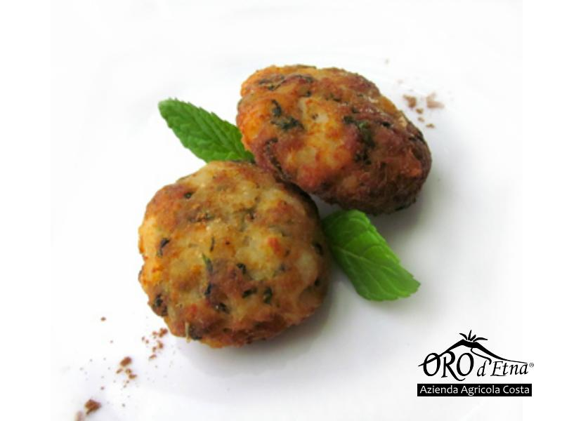 Baked Meatball With Olive